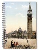 Piazza San Marco, 1890s Spiral Notebook