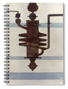 Picabia: Paroxyme, 1915 Spiral Notebook