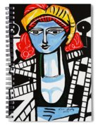 Picasso By Nora  Film Star Spiral Notebook