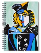 Picasso By Nora  The Queen Spiral Notebook