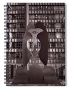 Picasso Chicago Bw Spiral Notebook