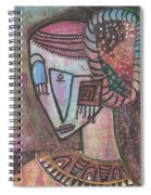 Picasso Inspired Spiral Notebook