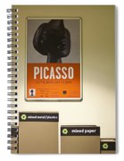 Picasso Poster Spiral Notebook