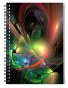Picassoractal Spiral Notebook