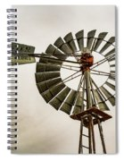 Piceance Basin Windmill Spiral Notebook