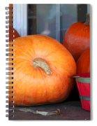 Pick A Pumpkin Spiral Notebook