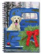 Pick-en Up The Christmas Tree Spiral Notebook