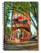 Pickel Barrel 2 Chattanooga Tennessee Cityscape Art Spiral Notebook