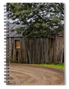 Pickers Huts Spiral Notebook