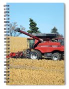 Picking Corn Spiral Notebook