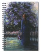 Picking Lilacs Spiral Notebook