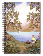 Picnic By A Lake Spiral Notebook