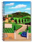 Picnic In Tuscany Spiral Notebook