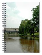 Picnic On The Bavarian Lawn Spiral Notebook