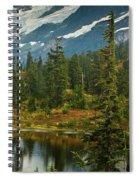 Picture Lake Vista Spiral Notebook