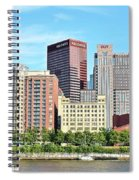 Picture Perfect Pittsburgh Panoramic Spiral Notebook