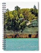 Pictured Rock 6323  Spiral Notebook
