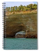Pictured Rocks Arch Spiral Notebook