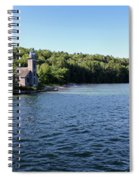 Pictured Rocks Lighthouse Spiral Notebook