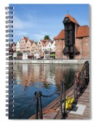 Picturesque City Of Gdansk In Poland Spiral Notebook