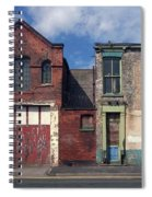 Picturesque Derelict Houses In Hull England Spiral Notebook