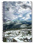 Picturesque Mountain Landscape Spiral Notebook