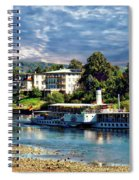 Picturesque River Cruise Spiral Notebook