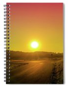 Picturesque Sunset Spiral Notebook