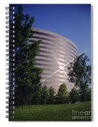 Corporate Woods Pie Building Spiral Notebook