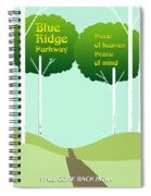 Piece Of Heaven Peace Of Mind Spiral Notebook