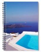 Piece Of Mediterranean Paradise Spiral Notebook