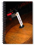 Piece Of The Original Old Stage At The Grand Ole Opry In Nashville Spiral Notebook
