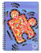 Pieces Fit Spiral Notebook