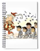 Pied Piper Trump And Infestation Spiral Notebook