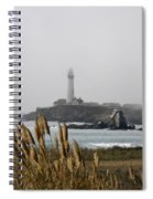 Piegeon Point Lighthouse Spiral Notebook