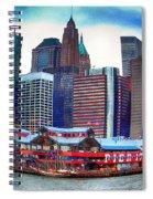 Pier 17 Ny Ny Spiral Notebook