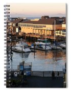 Pier 39 In The Sunshine Spiral Notebook
