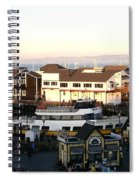Pier 39 Panorama Spiral Notebook