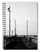 Pier And Pelican Spiral Notebook