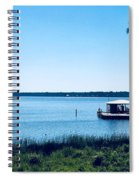 Pier On The Bay Spiral Notebook