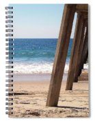 Pier On The Pacific Spiral Notebook