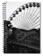 Pier Park Navy Pier Chicago Spiral Notebook