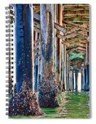 Pier Pylons Balboa Spiral Notebook