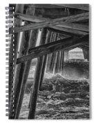 Pier Storm Spiral Notebook