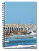 Pier Surf Spiral Notebook