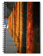 Pier Symmetry 2 Spiral Notebook