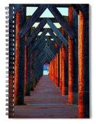 Pier Symmetry   Spiral Notebook