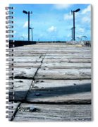 Pier To The Sky Spiral Notebook