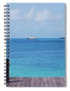 Pier View Spiral Notebook