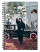 Pierce-arrow Ad, 1925 Spiral Notebook